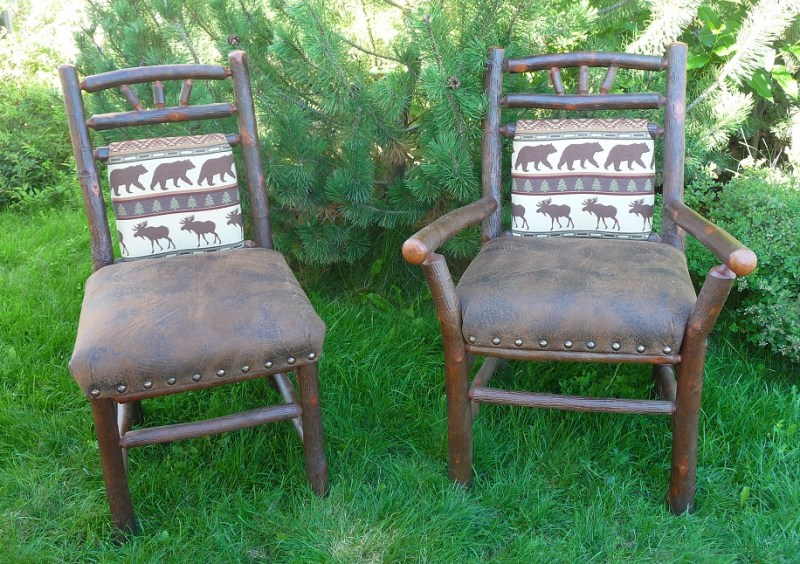 old-hickory-dining-chairs