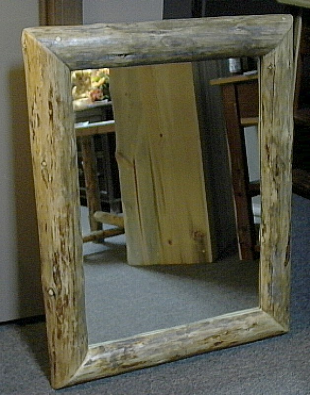 rustic-log-mirror