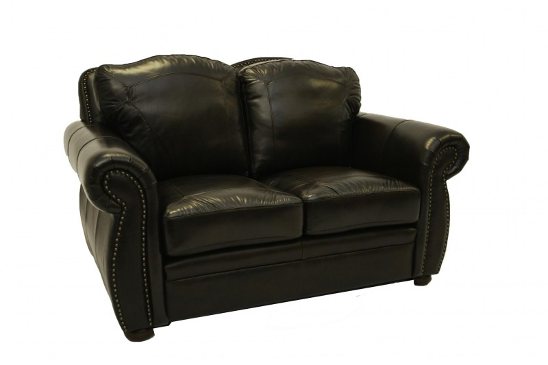 terasso leather loveseat