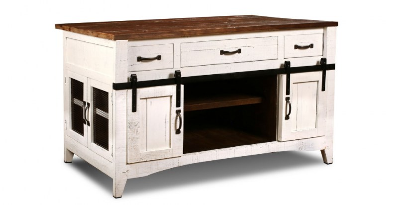 plaza kitchen island