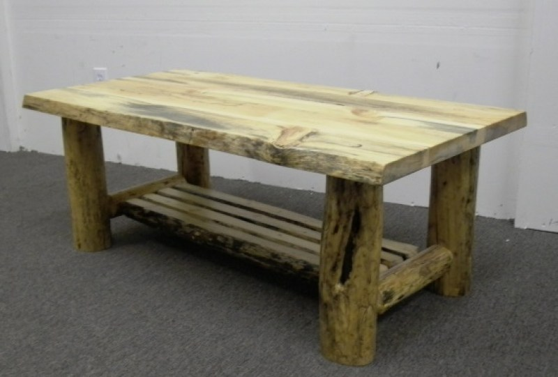rustic-log-coffee-table